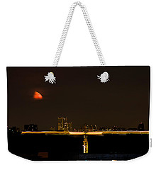 Moscow By Night Weekender Tote Bag by Stelios Kleanthous