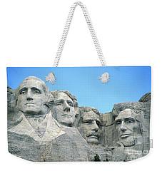 Mount Rushmore Weekender Tote Bag by American School