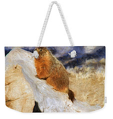 Mountains To Climb Weekender Tote Bag by Donna Kennedy