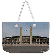 Berlin Olympic Stadium Weekender Tote Bag by Stephen Smith