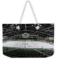 Munn Ice Arena  Weekender Tote Bag by John McGraw