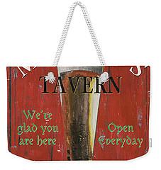 Murphy's Tavern Weekender Tote Bag by Debbie DeWitt
