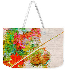Music In My Soul Weekender Tote Bag by Nikki Smith