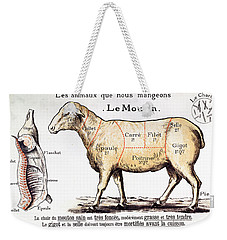 Mutton Weekender Tote Bag by French School