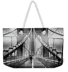 Mystery Manhattan Weekender Tote Bag by Az Jackson