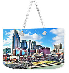 Nashville Eight By Ten Weekender Tote Bag by Frozen in Time Fine Art Photography