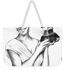 Natalie Cole Weekender Tote Bag by Greg Joens