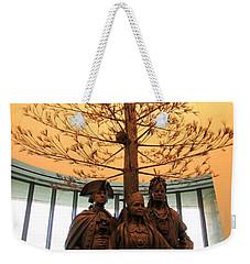 National Museum Of The American Indian 7 Weekender Tote Bag by Randall Weidner