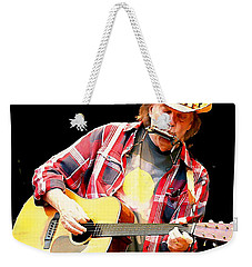 Neil Young Weekender Tote Bag by John Malone