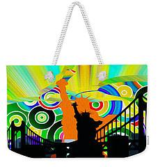 New York City Colors Weekender Tote Bag by Stefano Senise