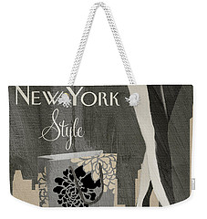 New York Style I Weekender Tote Bag by Mindy Sommers