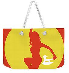 No722 My Serenity Minimal Movie Poster Weekender Tote Bag by Chungkong Art