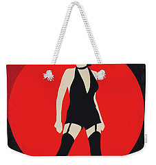 No742 My Cabaret Minimal Movie Poster Weekender Tote Bag by Chungkong Art