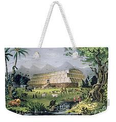 Noahs Ark Weekender Tote Bag by Currier and Ives