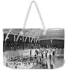 North Beach Bath House Weekender Tote Bag by Underwood Archives