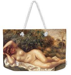 Nude Weekender Tote Bag by Pierre Auguste Renoir