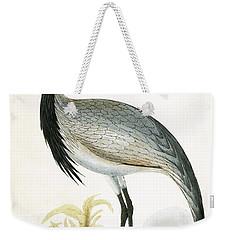 Numidian Crane Weekender Tote Bag by English School