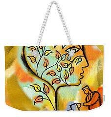 Nurturing And Caring Weekender Tote Bag by Leon Zernitsky