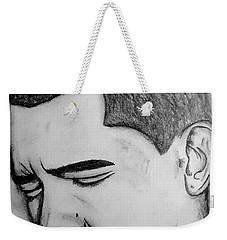 Obama 2 Weekender Tote Bag by Collin A Clarke
