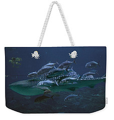 Ocean Treasures Weekender Tote Bag by Betsy Knapp