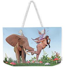 Oh Alice Weekender Tote Bag by Betsy Knapp