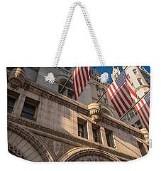 Old Post Office Washington D C Weekender Tote Bag by Steve Gadomski