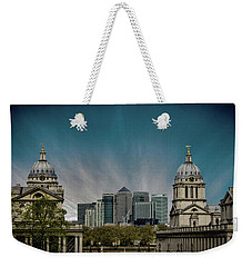Old Vs New Weekender Tote Bag by Martin Newman