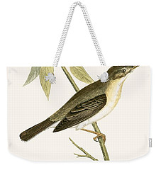 Olivaceous Warbler Weekender Tote Bag by English School