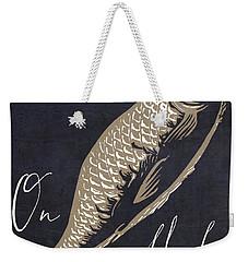 On Fleek Weekender Tote Bag by Mindy Sommers