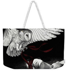 On Silent Wings Weekender Tote Bag by Pat Erickson