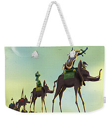 On The Move 2 Weekender Tote Bag by Mike McGlothlen