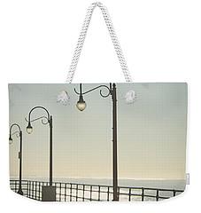 On The Pier Weekender Tote Bag by Linda Woods