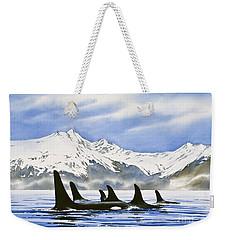 Orca Weekender Tote Bag by James Williamson