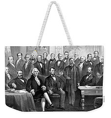 Our Presidents 1789-1881 Weekender Tote Bag by War Is Hell Store