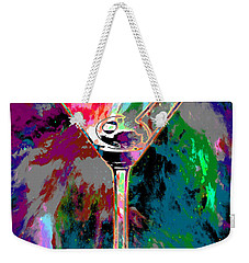 Out Of This World Martini Weekender Tote Bag by Jon Neidert