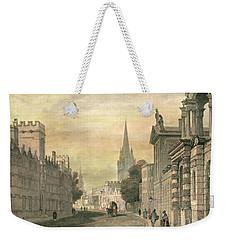 Oxford Weekender Tote Bag by G Hollis