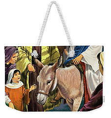 Palm Sunday Weekender Tote Bag by Clive Uptton