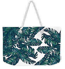 Palm Tree 7 Weekender Tote Bag by Mark Ashkenazi