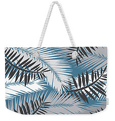 Palm Trees 10 Weekender Tote Bag by Mark Ashkenazi