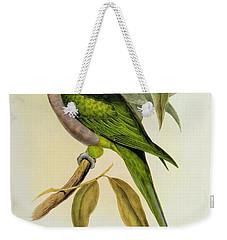 Parakeet Weekender Tote Bag by John Gould