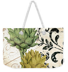 Paris Artichokes Weekender Tote Bag by Mindy Sommers