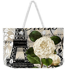 Paris Blanc I Weekender Tote Bag by Mindy Sommers