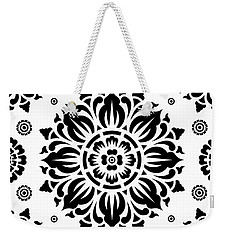 Pattern Art 01-2 Weekender Tote Bag by Bobbi Freelance