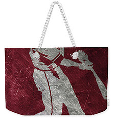 Paul Goldschmidt Arizona Diamondbacks Art Weekender Tote Bag by Joe Hamilton