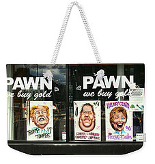 Pawn Shop Humor Weekender Tote Bag by Allen Beatty