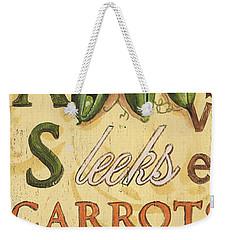Pea Soup Weekender Tote Bag by Debbie DeWitt