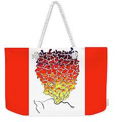 Pele Dreams Weekender Tote Bag by Diane Thornton