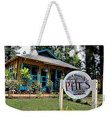 Pele's Lanai Style Weekender Tote Bag by DJ Florek