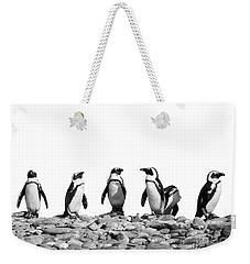Penguins Weekender Tote Bag by Delphimages Photo Creations