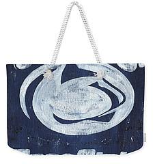 Penn State Weekender Tote Bag by Debbie DeWitt